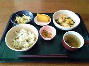 菜飯 朝食 昼食 夕食 白飯以外